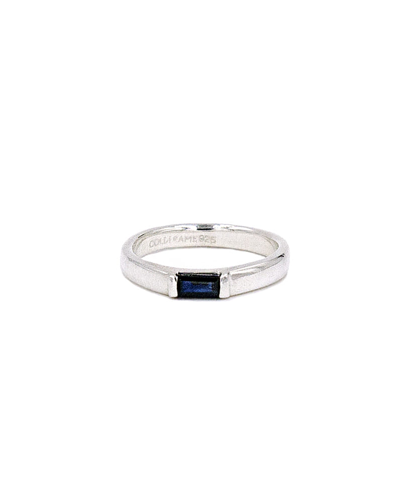 SAPPHIRE RING FOR LITTLE FINGER