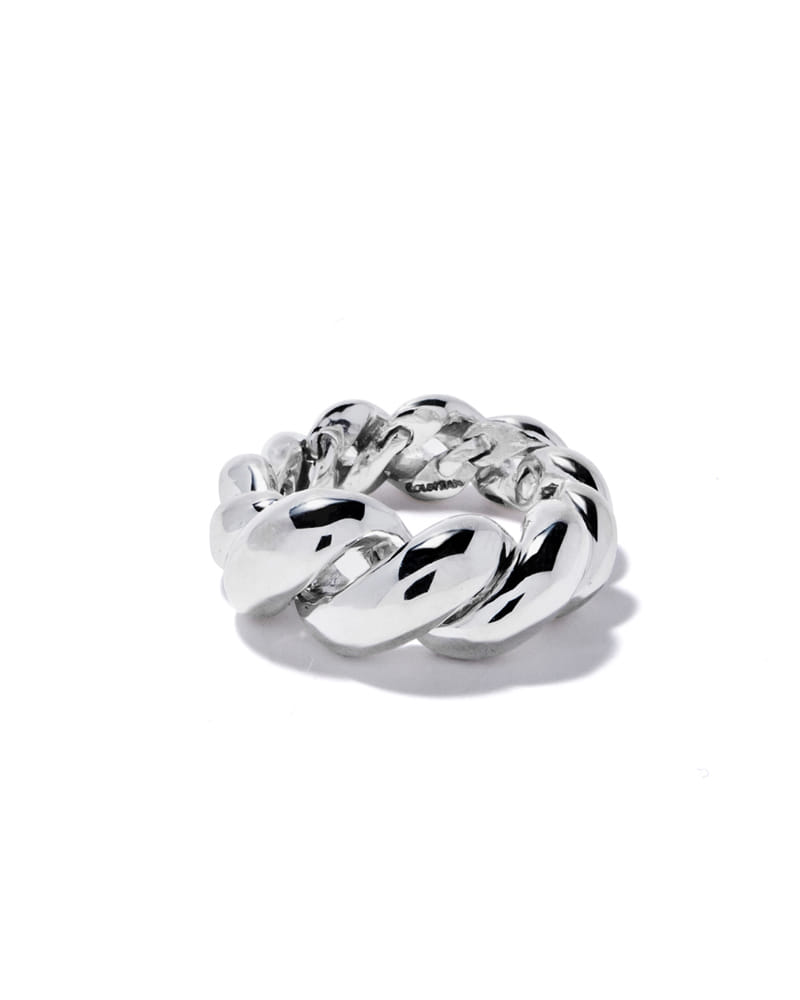 ROPE TWIST BOLD RING