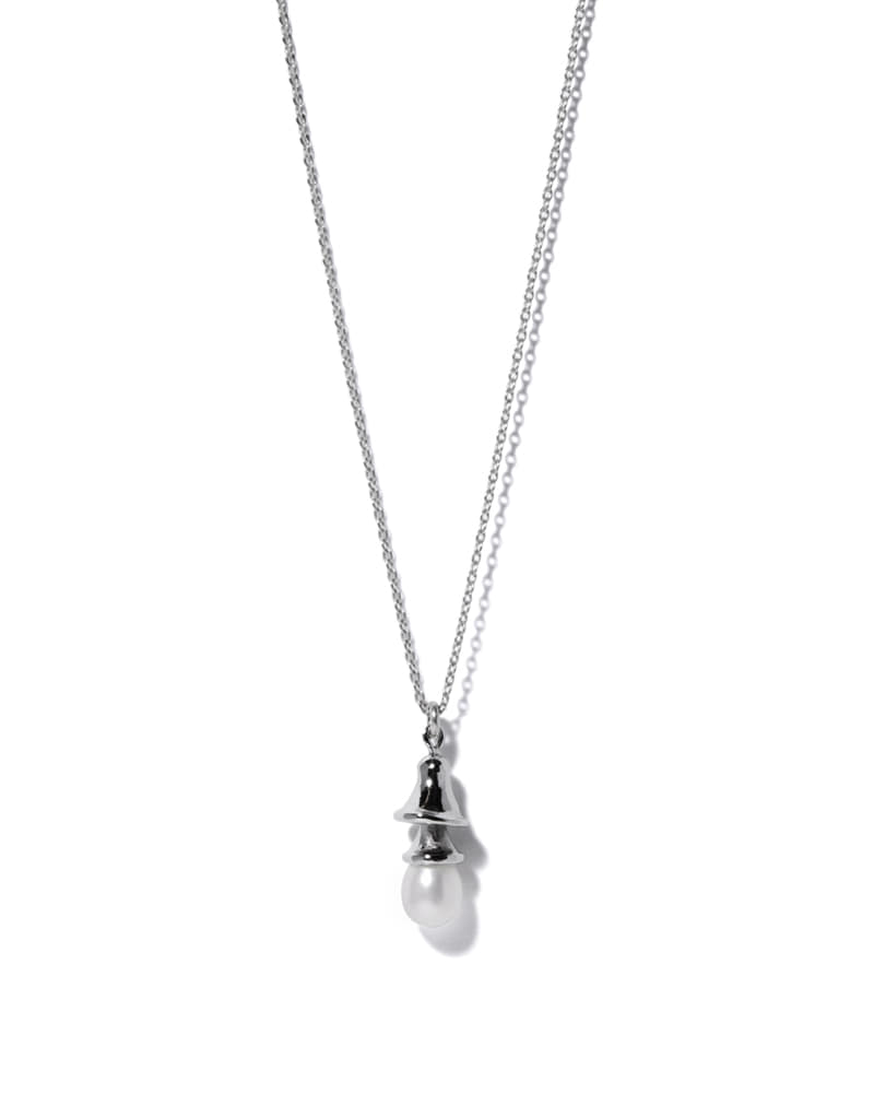 PEARL BELL NECKLACE