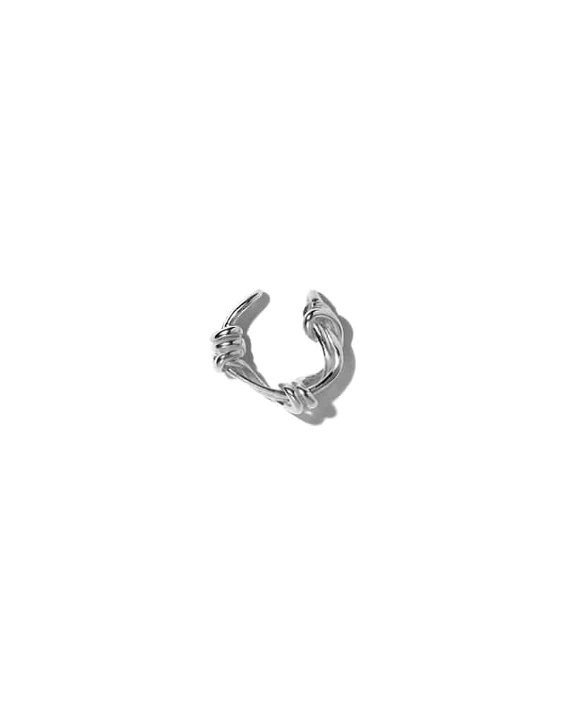 GORDIAN KNOT EAR CUFF
