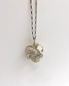 HEART KNOT LOCKET NECKLACE