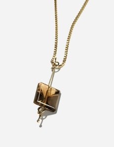 SQUARE AXIS NECKLACE